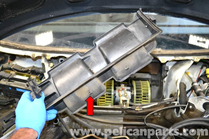 Mercedes Benz W124 Blower Motor Replacement 1986 1995 E