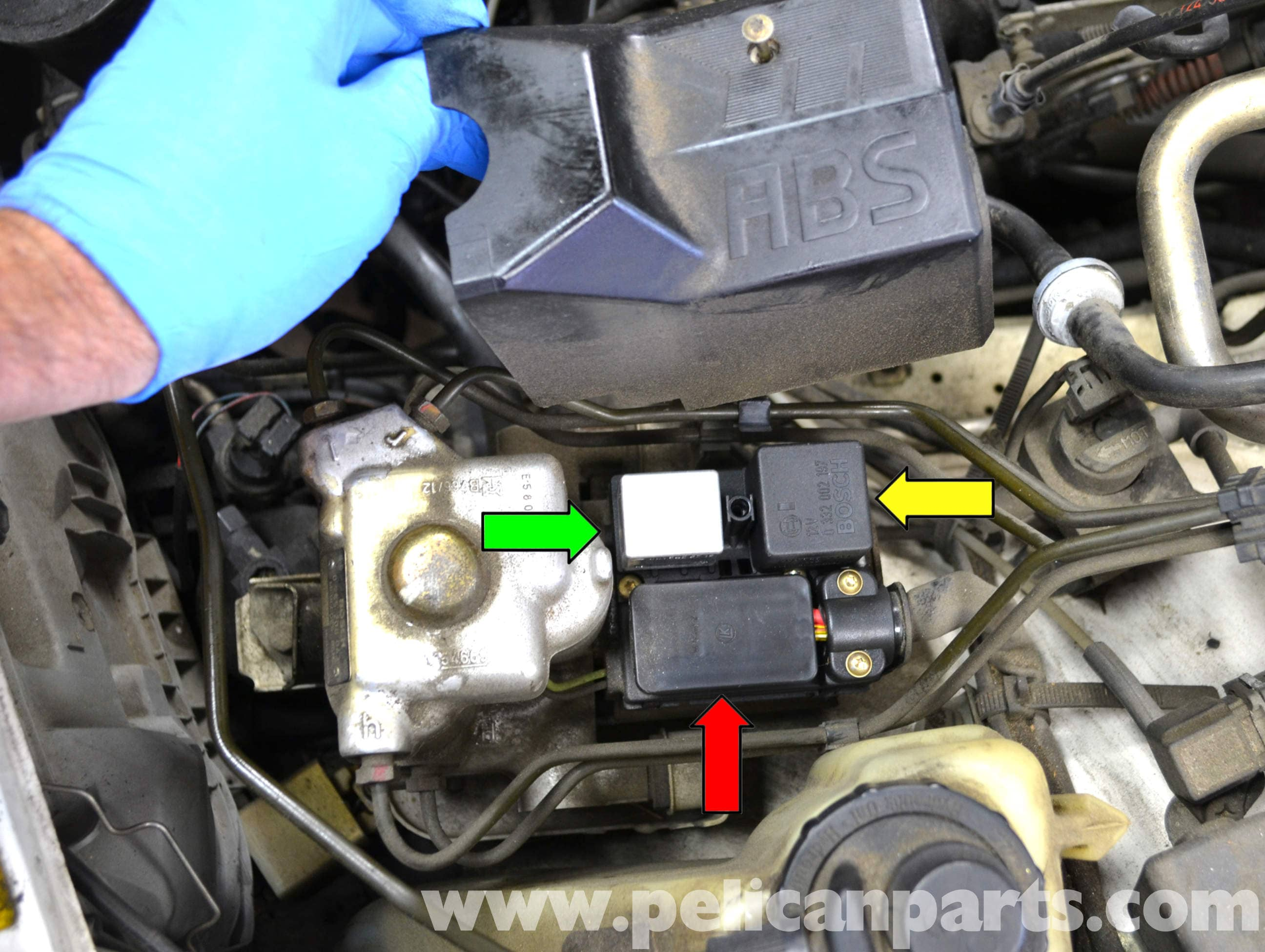 Mercedes Benz W124 Abs Relay And Pump Replacement 1986