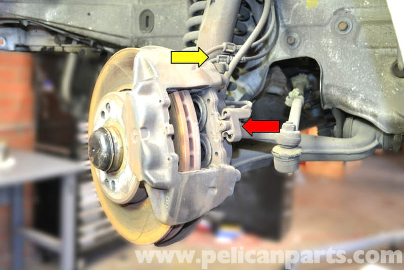 Mercedes Benz W124 Front Brake Caliper Replacement 1986