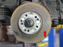 There are several types of rotors made for the W124.