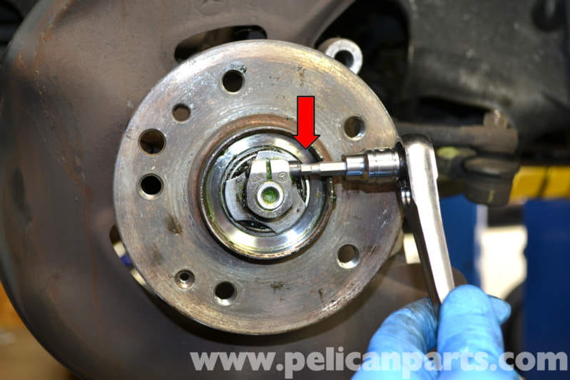 Mercedes Benz W124 Front Wheel Bearing Replacement 1986