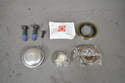 If you purchase a bearing kit it will come complete with everything you need including grease and new caliper bolts.