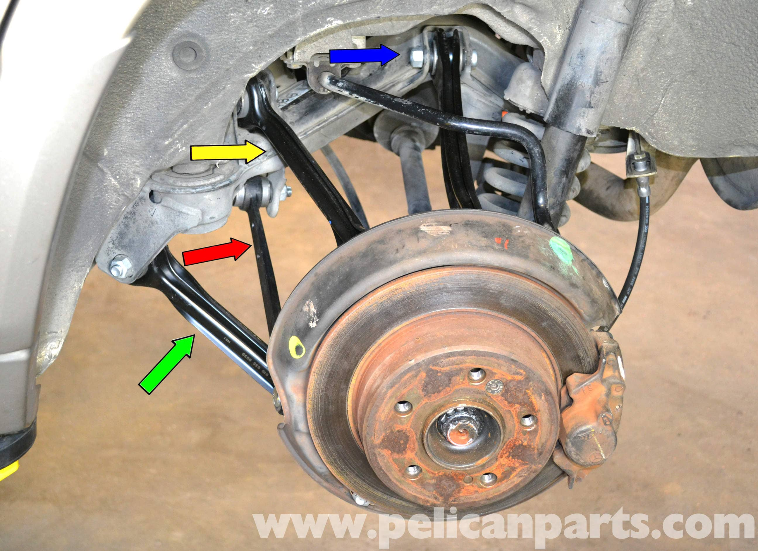 Mercedes benz w124 rear multi link suspension replacement for Mercedes benz w124 parts