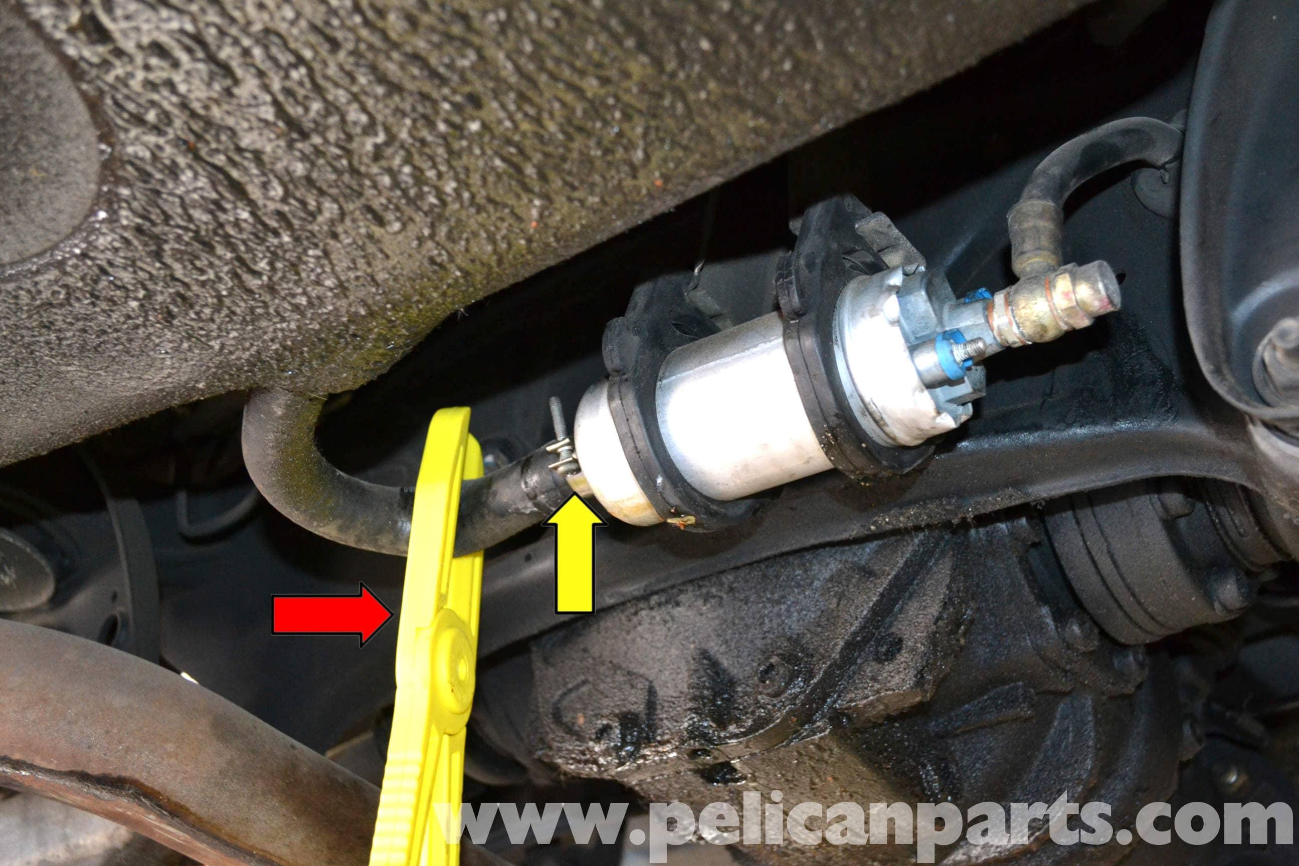 Mercedes Benz W124 Fuel Pump Replacement 1986 1995 E