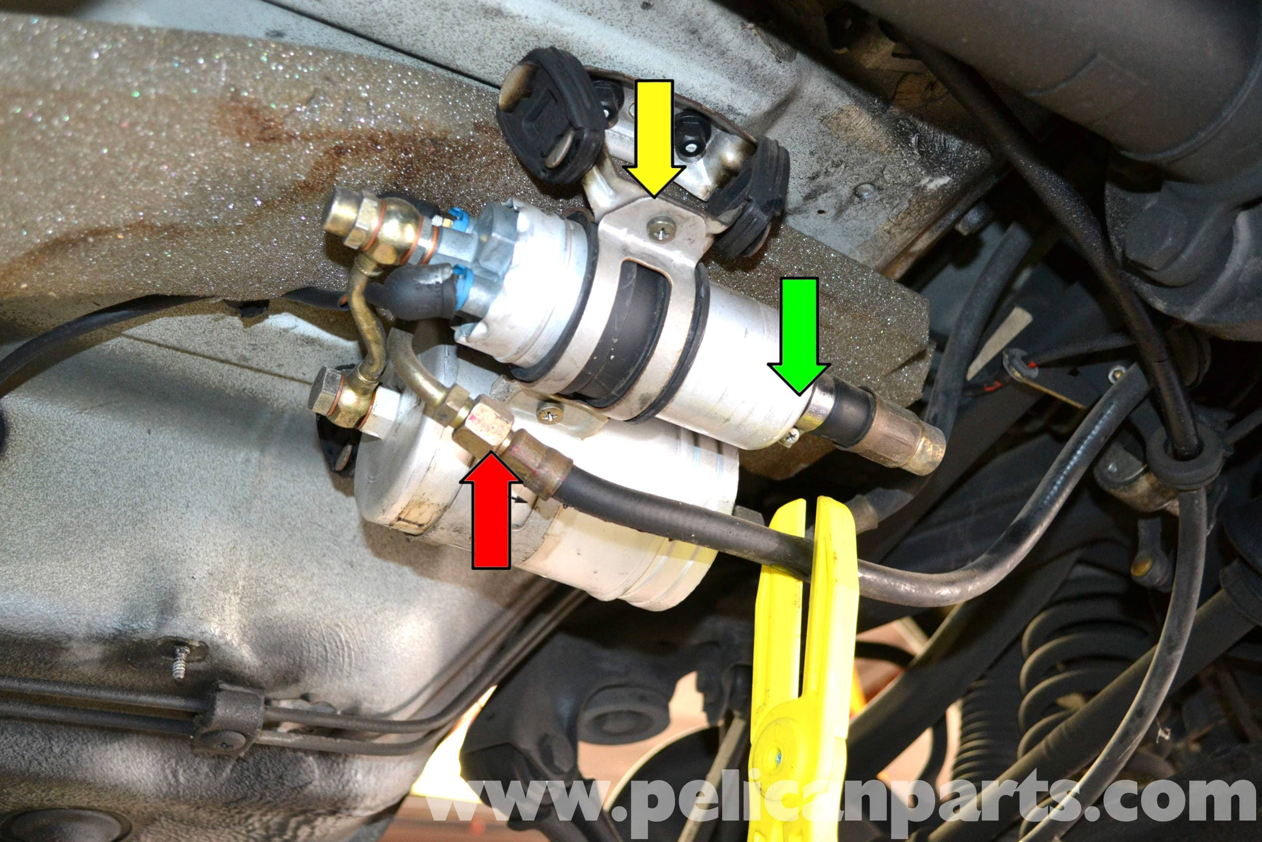 Mercedes Benz W124 Fuel Pump Replacement 1986 1995 E