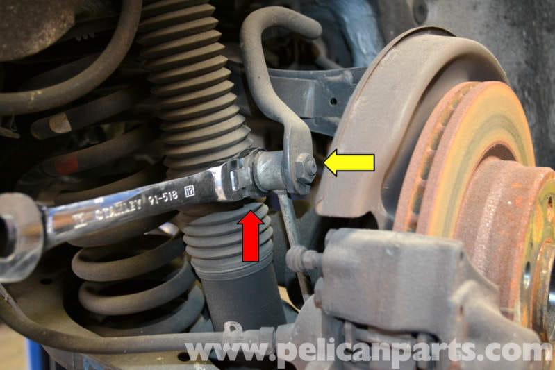 Mercedes Benz W124 Rear Stabilizer Bar And Link