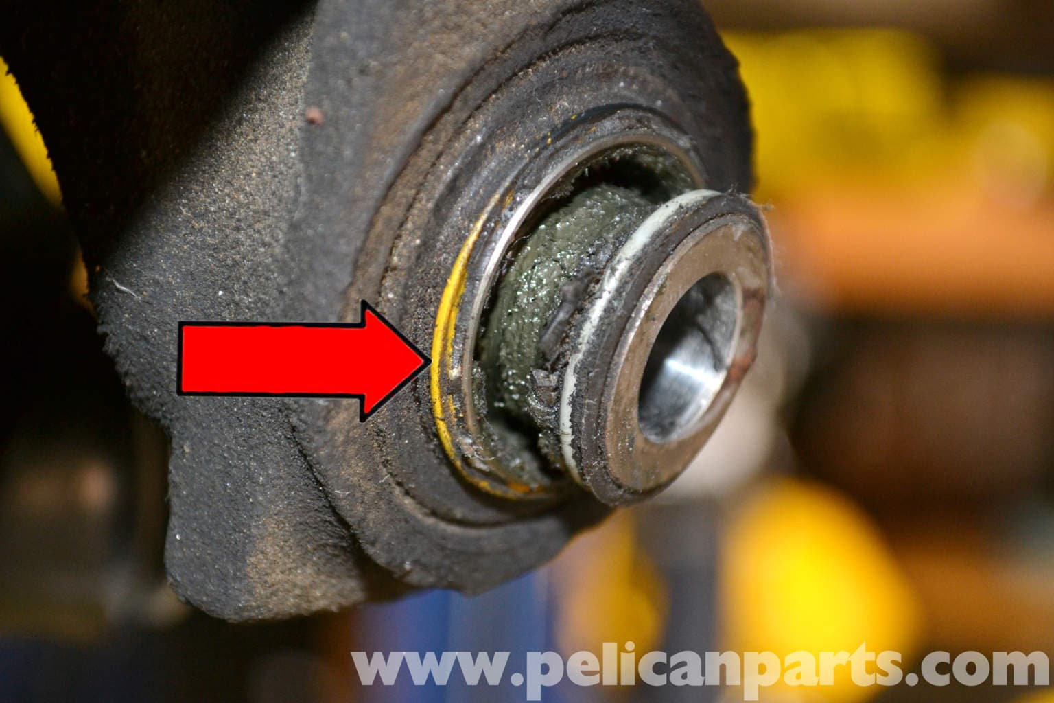 Mercedes Benz W124 Rear Control Arm Bushing Replacement