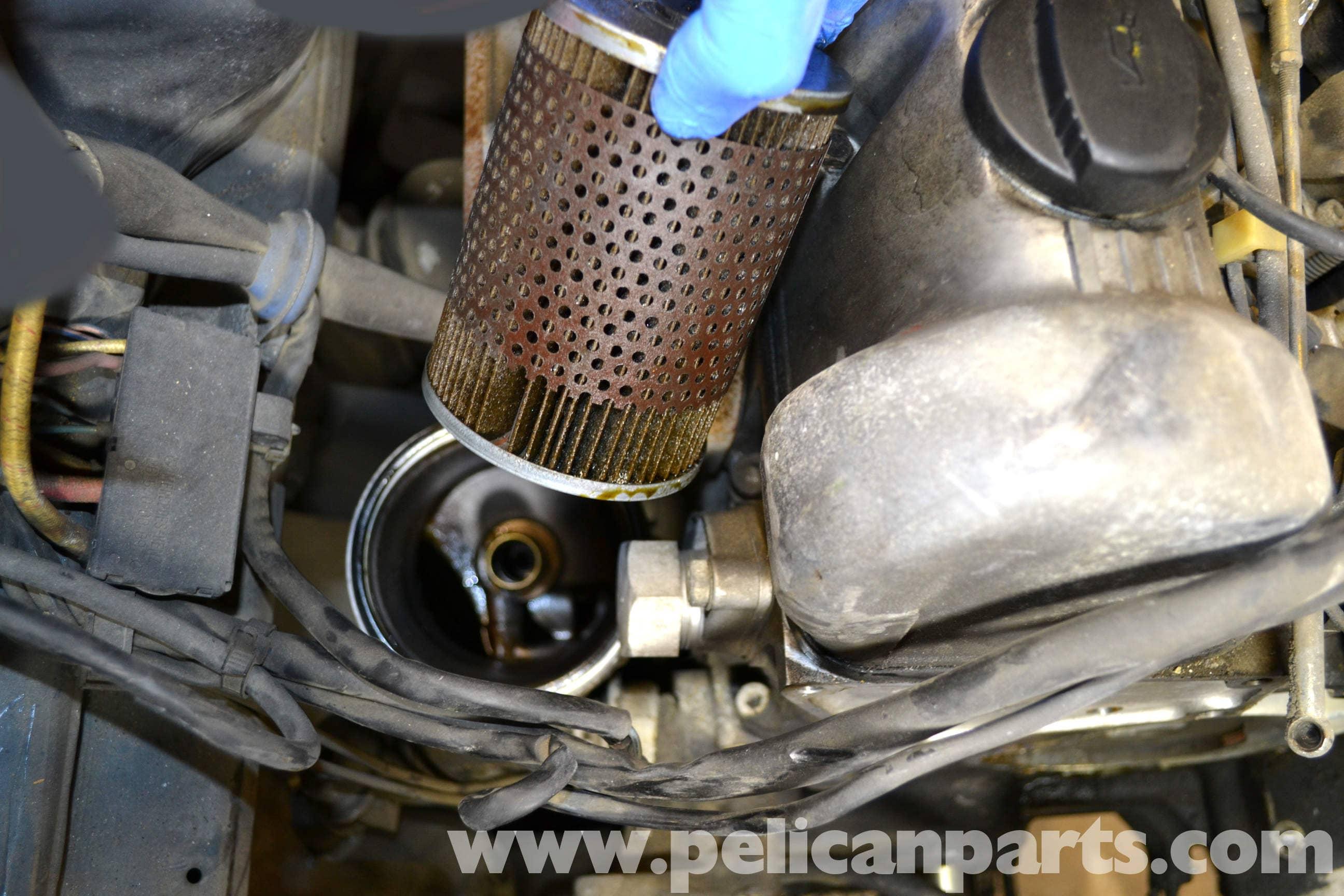 Mercedes-Benz W126 Oil Change | 1981-1991 S-Class | Pelican Parts ...