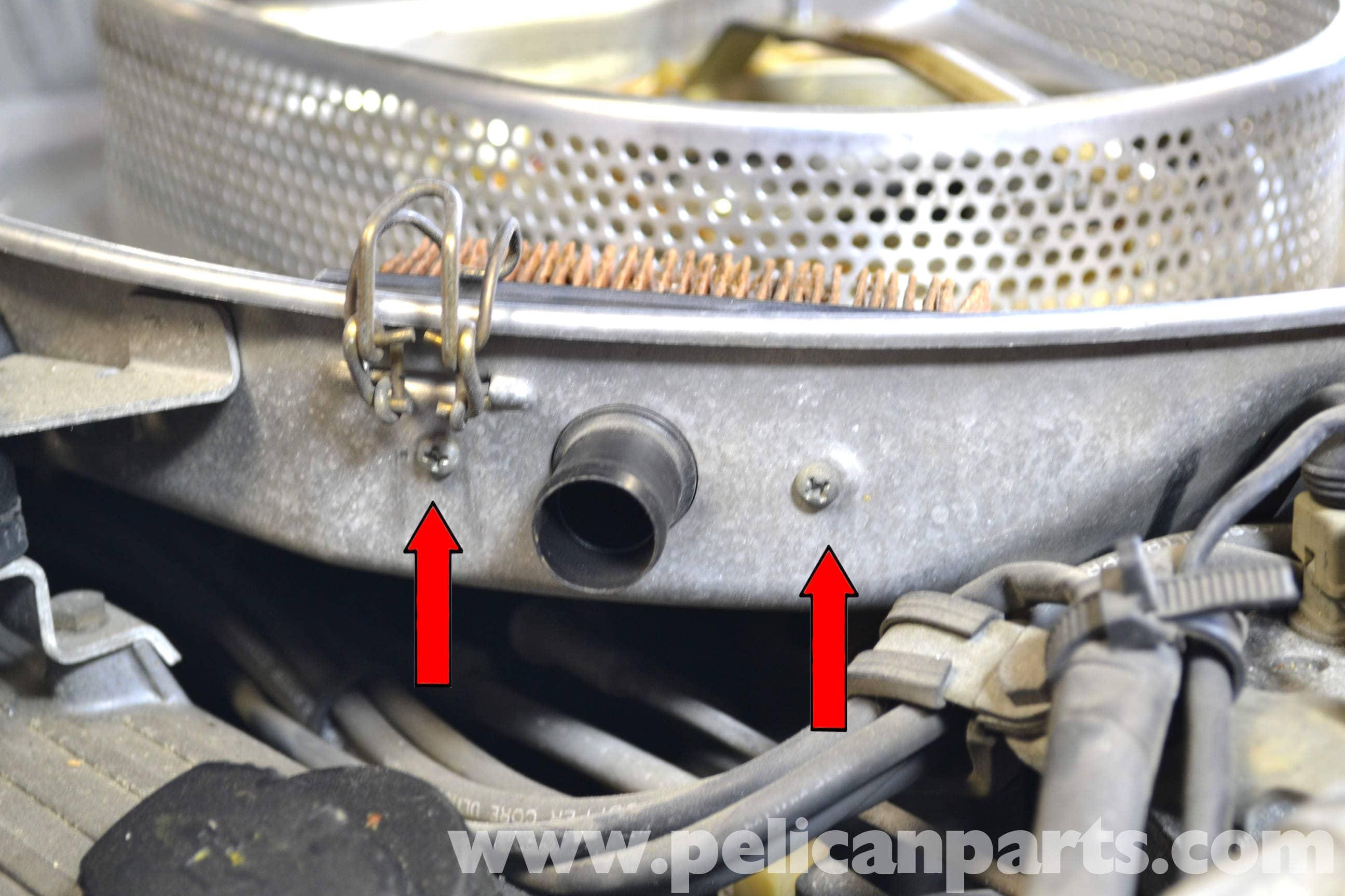 Mercedes-Benz W126 Air Filter Replacement | 1981-1991 S-Class ...