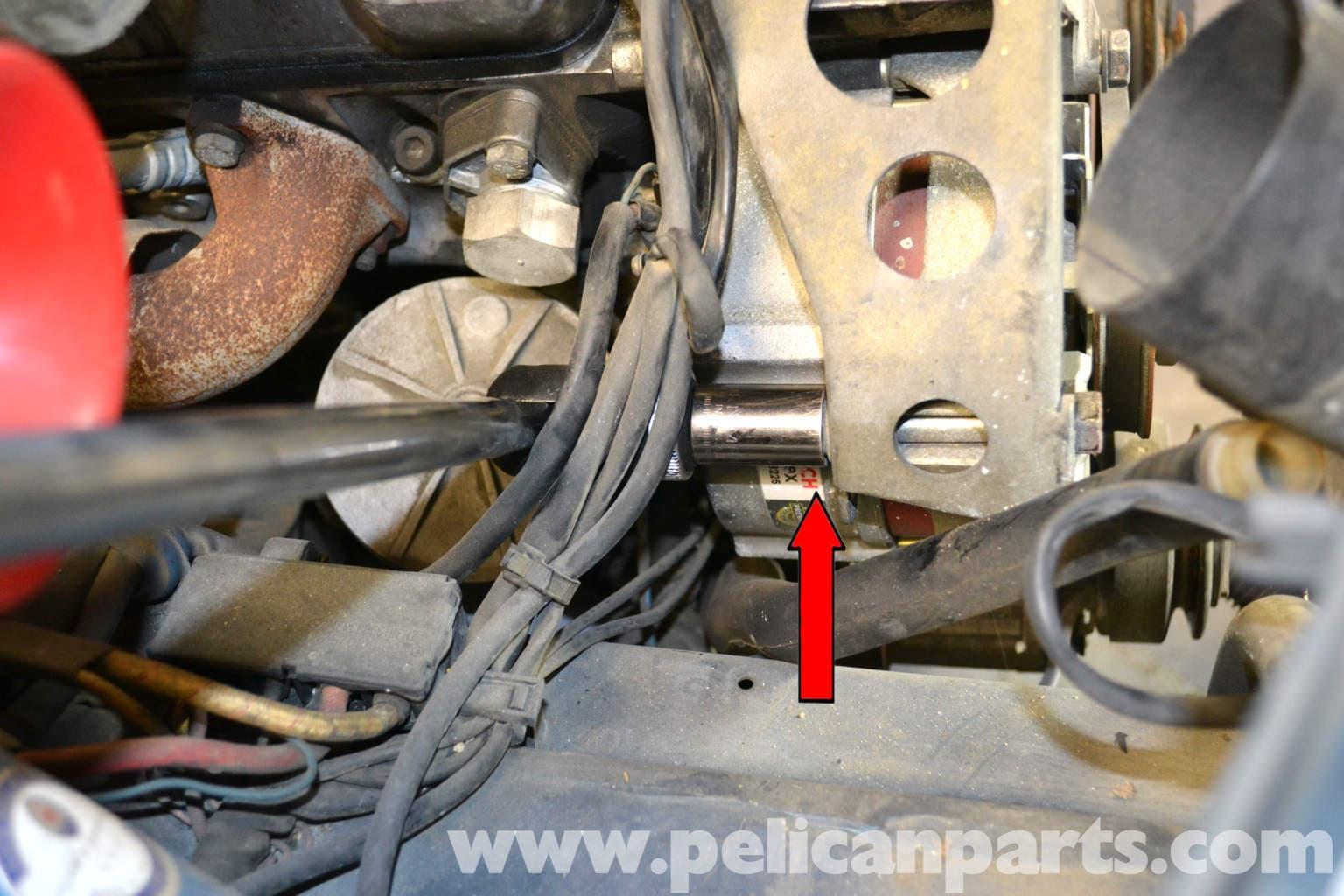 Mercedes Benz W126 Alternator Replacement 1981 1991 S