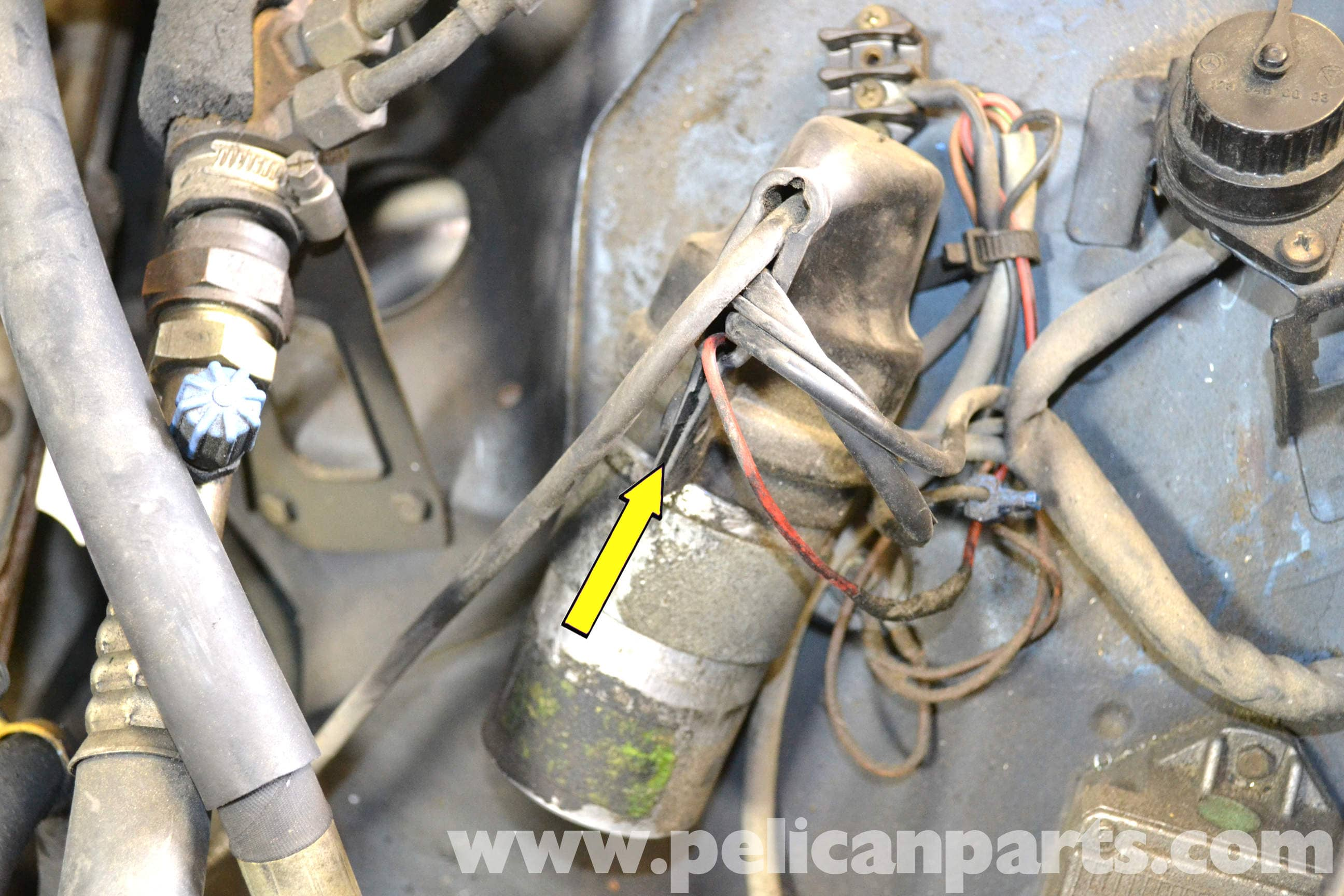 Mercedes-Benz W126 Coil Replacement | 1981-1991 S-Class | Pelican ...