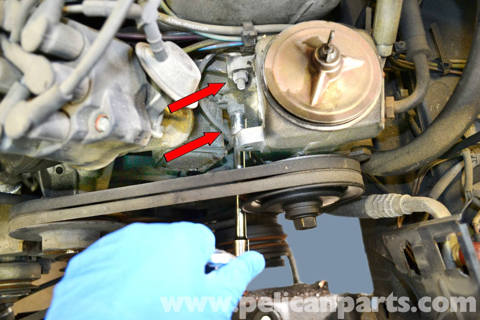 Pic on Mercedes Benz E320 1997 Oil Filter Location