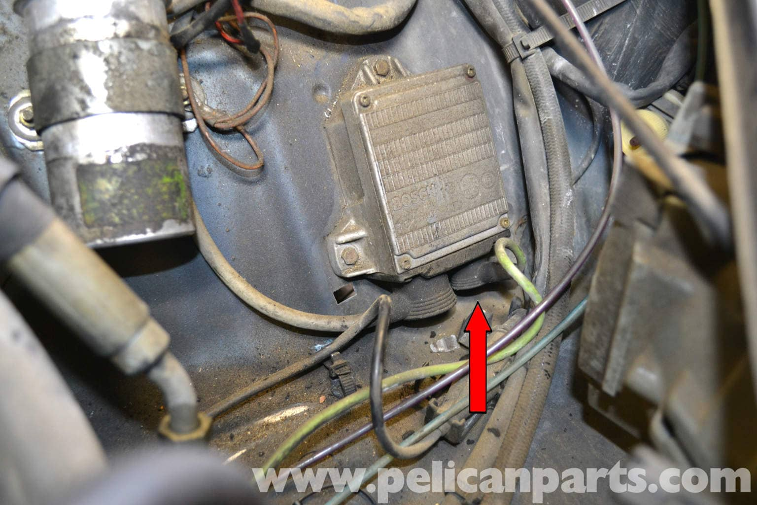 Mercedes Benz W126 Distributor Replacement 1981 1991 S