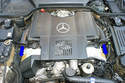 This photo illustrates your engine compartment with the hood open.