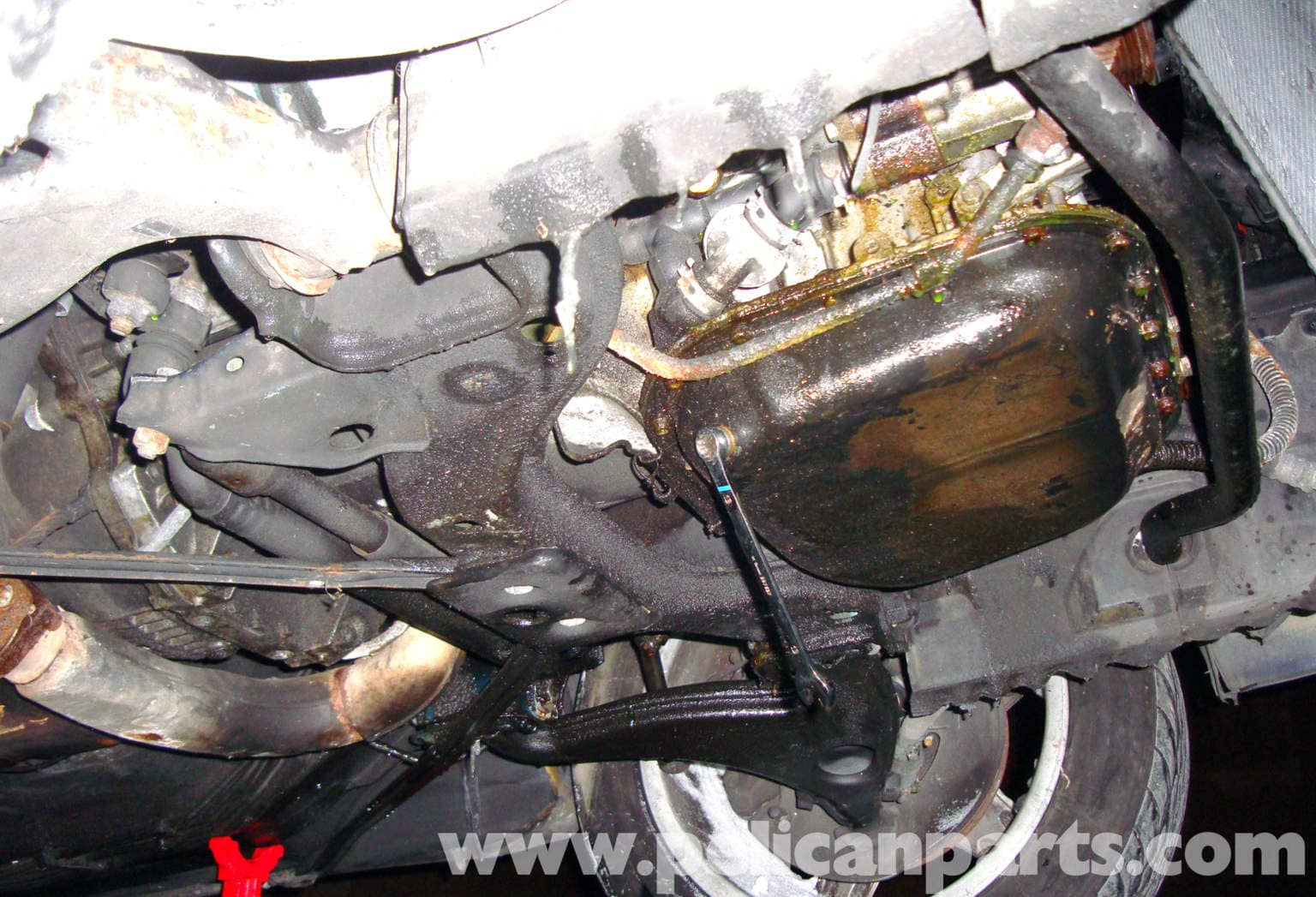 Mercedes Benz R129 Lower Oil Pan Removal Sl500 500sl
