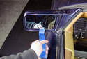 This picture illustrates the left side mirror.