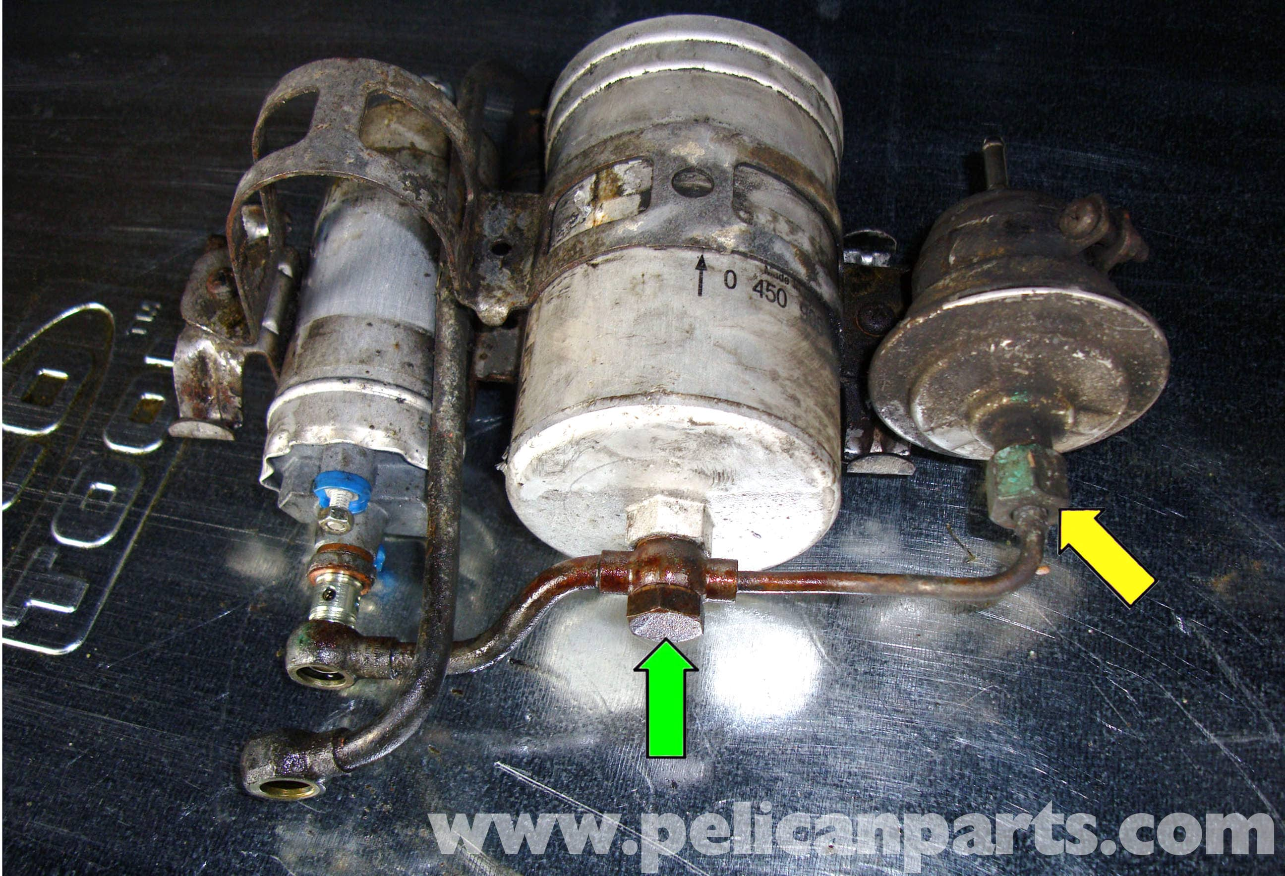Mercedes Benz R129 Fuel Pump Replacement Sl500 500sl 300sl 1998 Volvo 5 0 Gl Filter Location Large Image Extra