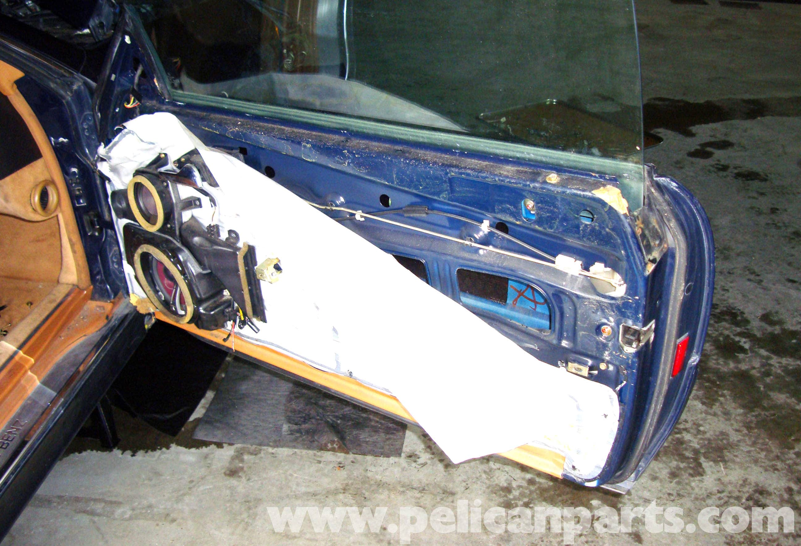 Mercedes-Benz R129 Power Window Removal - SL500, SL320 ... on