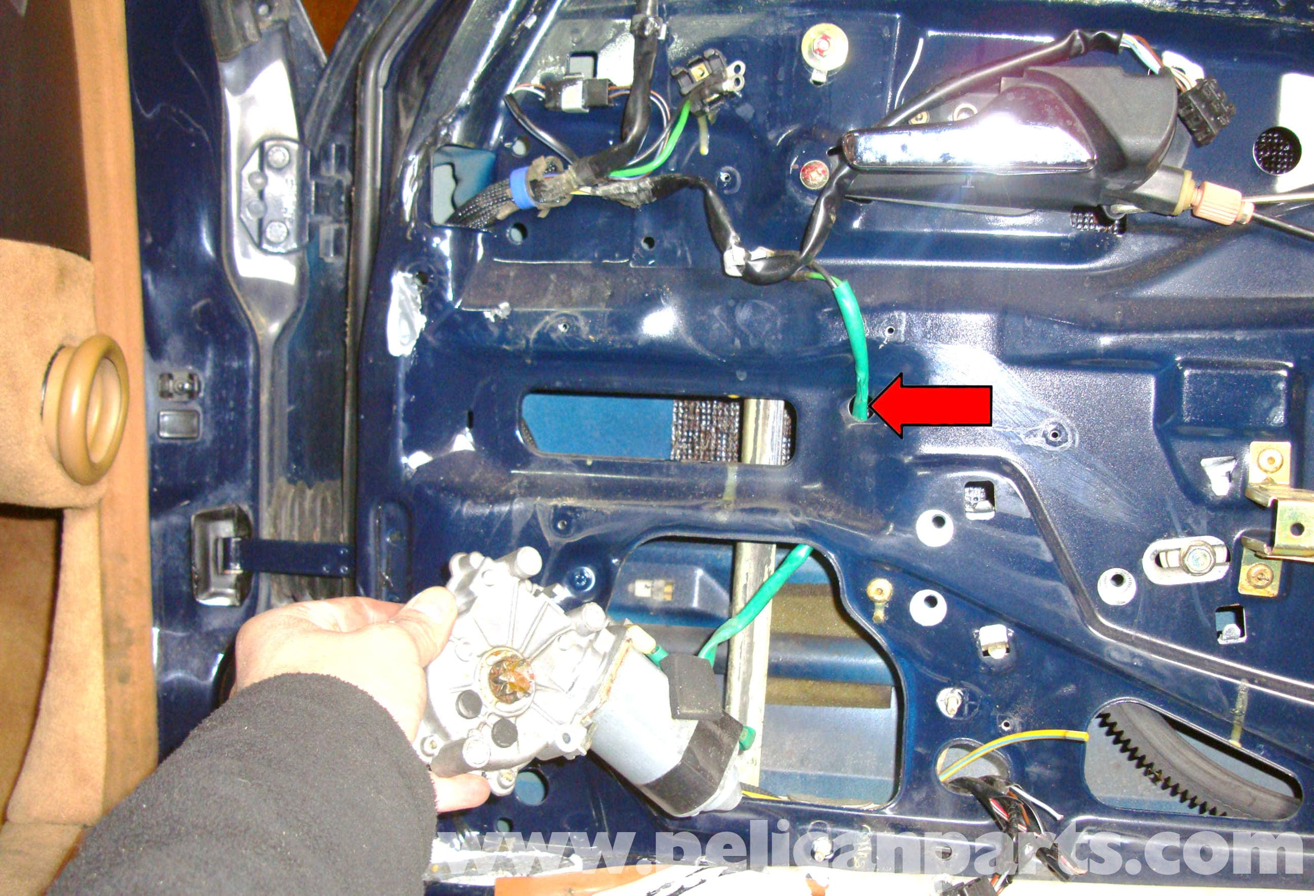 Mercedes-Benz R129 Power Window Removal - SL500, SL320, SL600 (1990 ...
