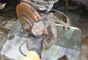 Front Brake Caliper You can now remove the caliper from the spindle.