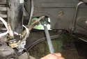 This Picture illustrates the inner end of the tie rod.