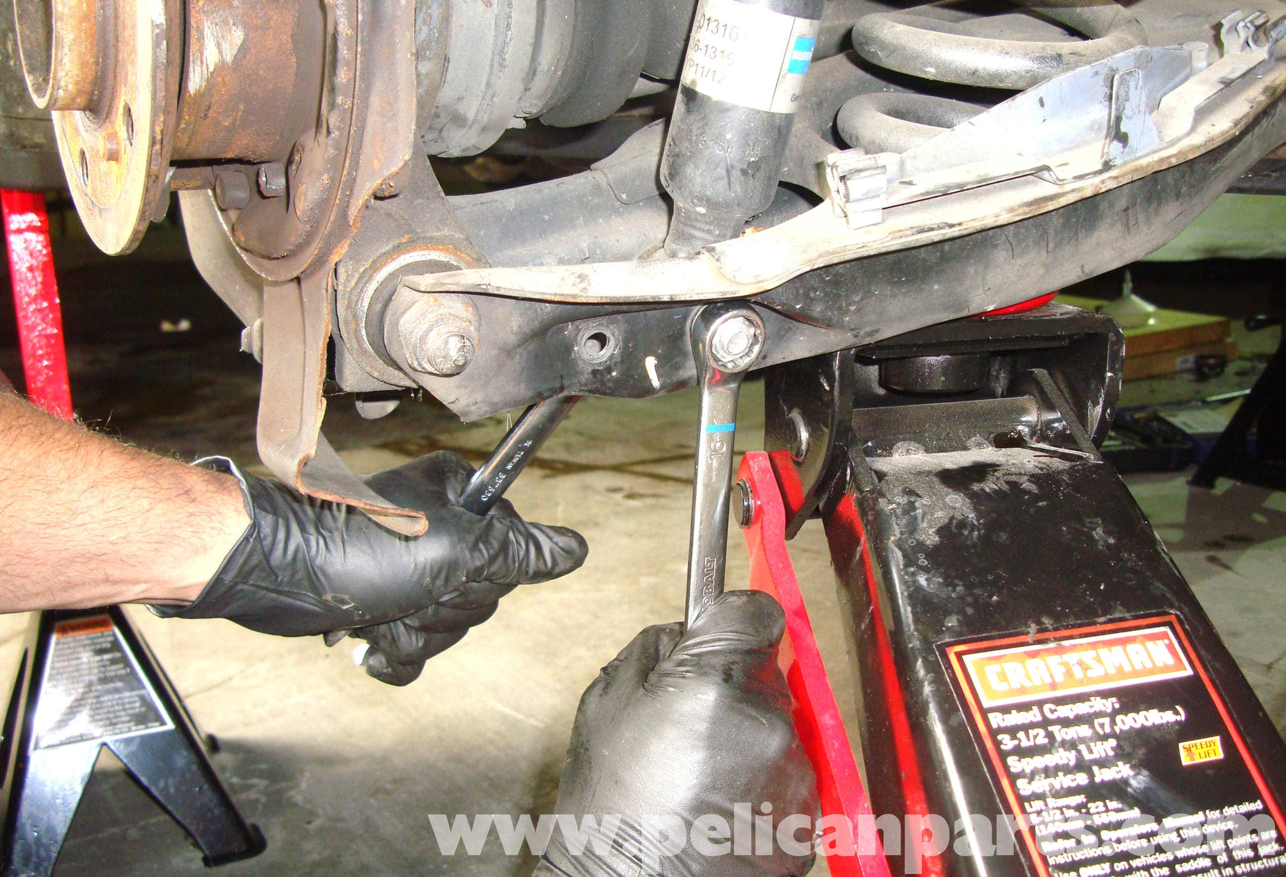 Mercedes-Benz R129 Rear Shock Absorber Replacement - SL500