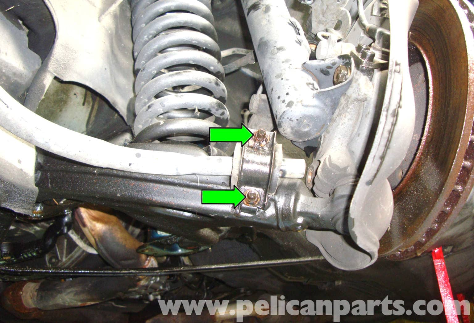 Mercedes Benz R129 Lower Control Arm Replacement Sl500