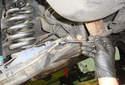 Remove the 10mm plastic cover fastener.
