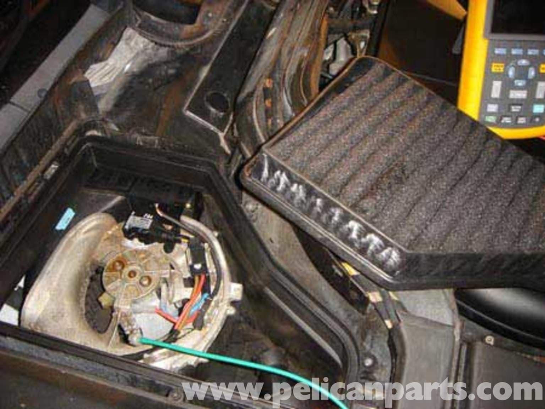Mercedes Benz W140 S Class Blower Motor And Cabin Filter