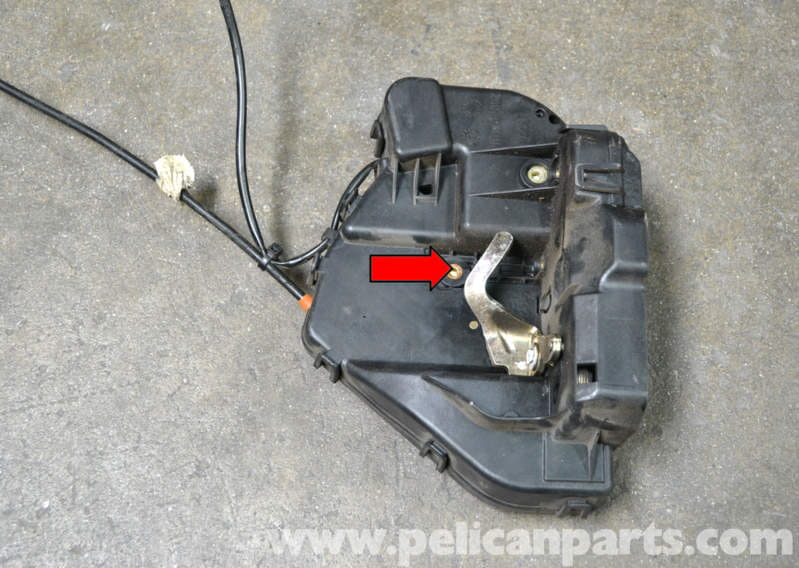 Mercedes Benz W203 Rear Door Lock Removal 2001 2007