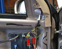 If your mirror has been damaged to the point where you need to replace the wiring harness you will first need to remove the door panel.