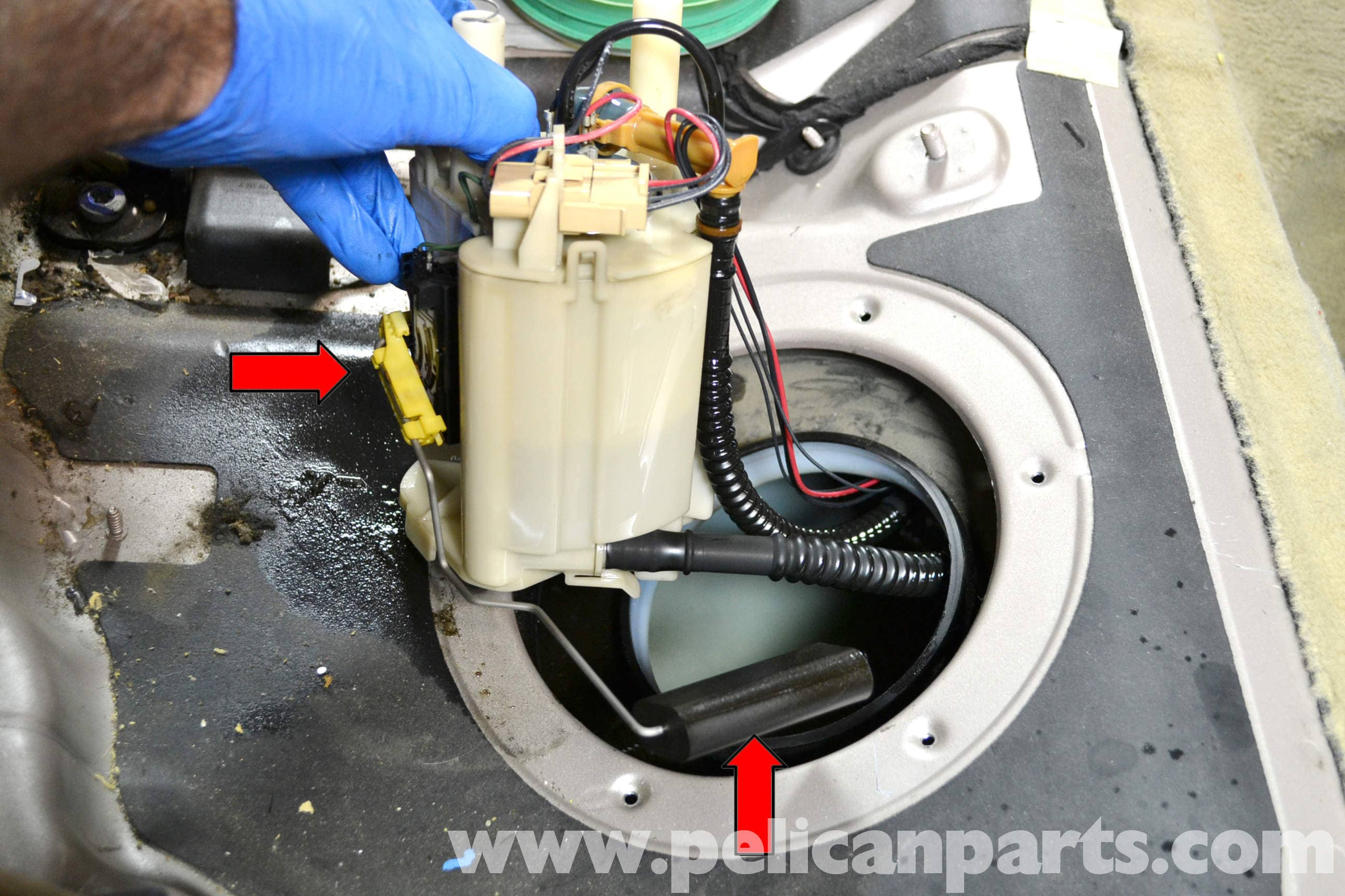 mercedes-benz w203 fuel pump replacement