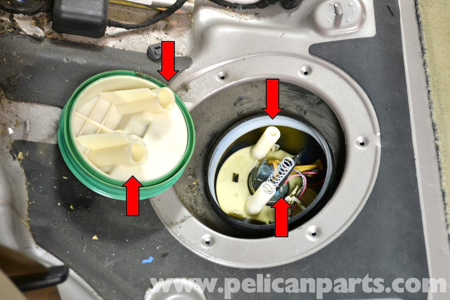 Mercedes Benz W203 Fuel Pump Replacement 2001 2007