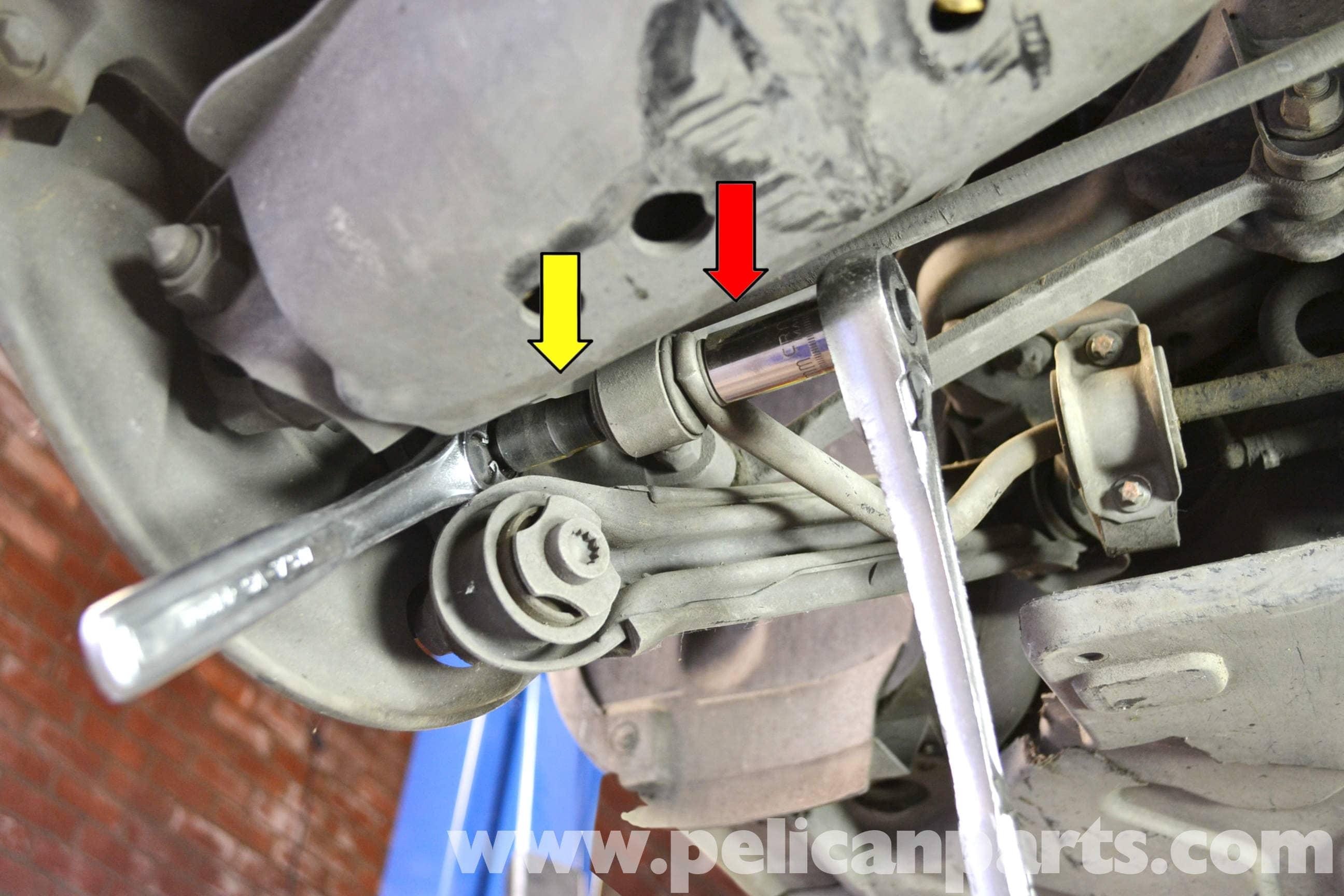 Mercedes Benz W203 Rear Sway Bar Bushing Replacement