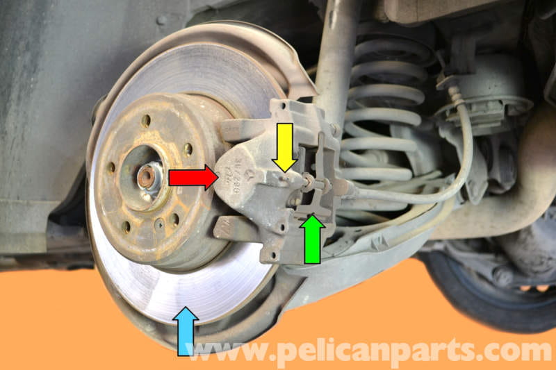 Mercedes benz w203 rear brake pad replacement 2001 2007 for Mercedes benz e350 brake pads replacement
