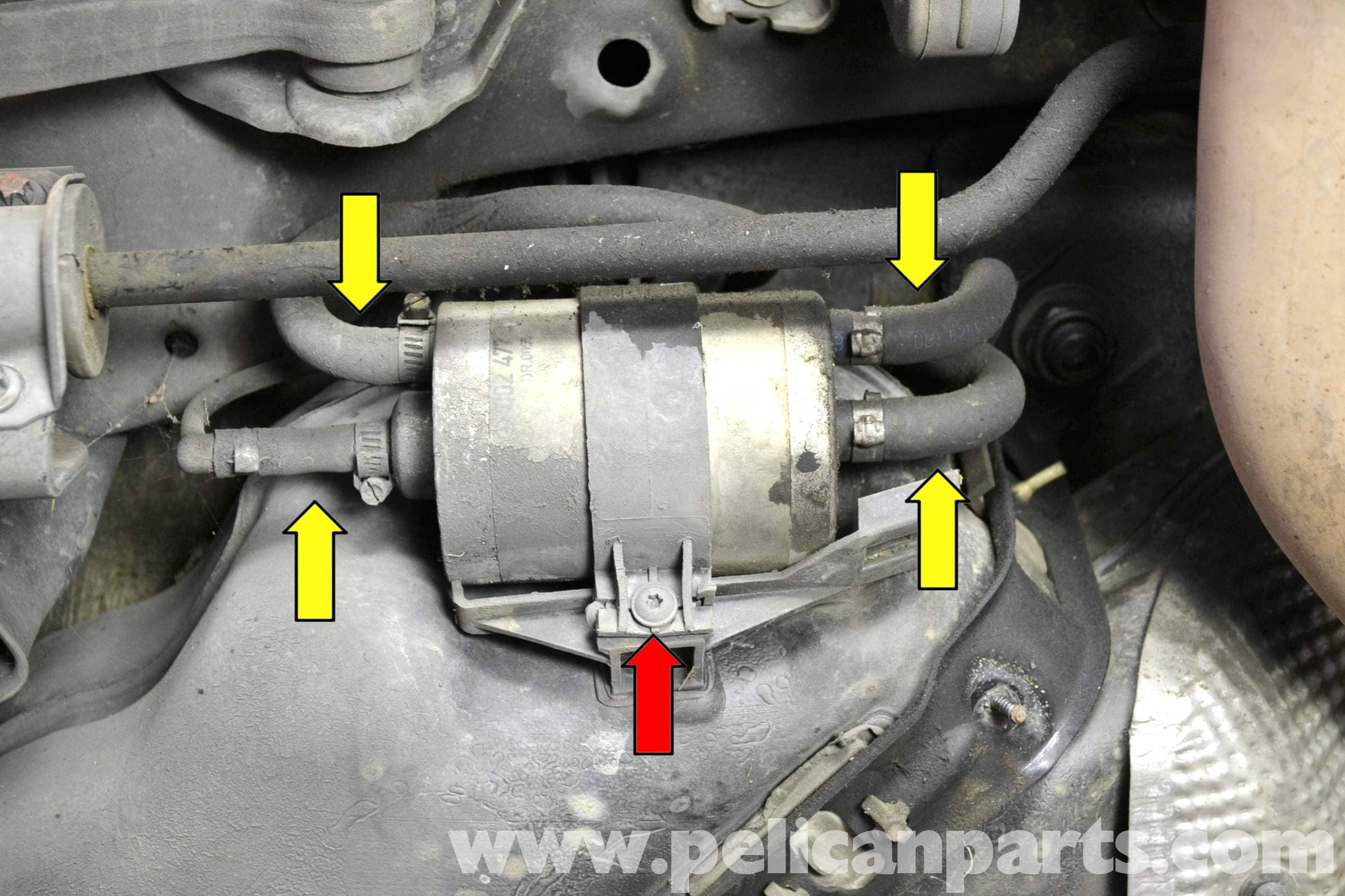 mercedes-benz w203 fuel filter replacement
