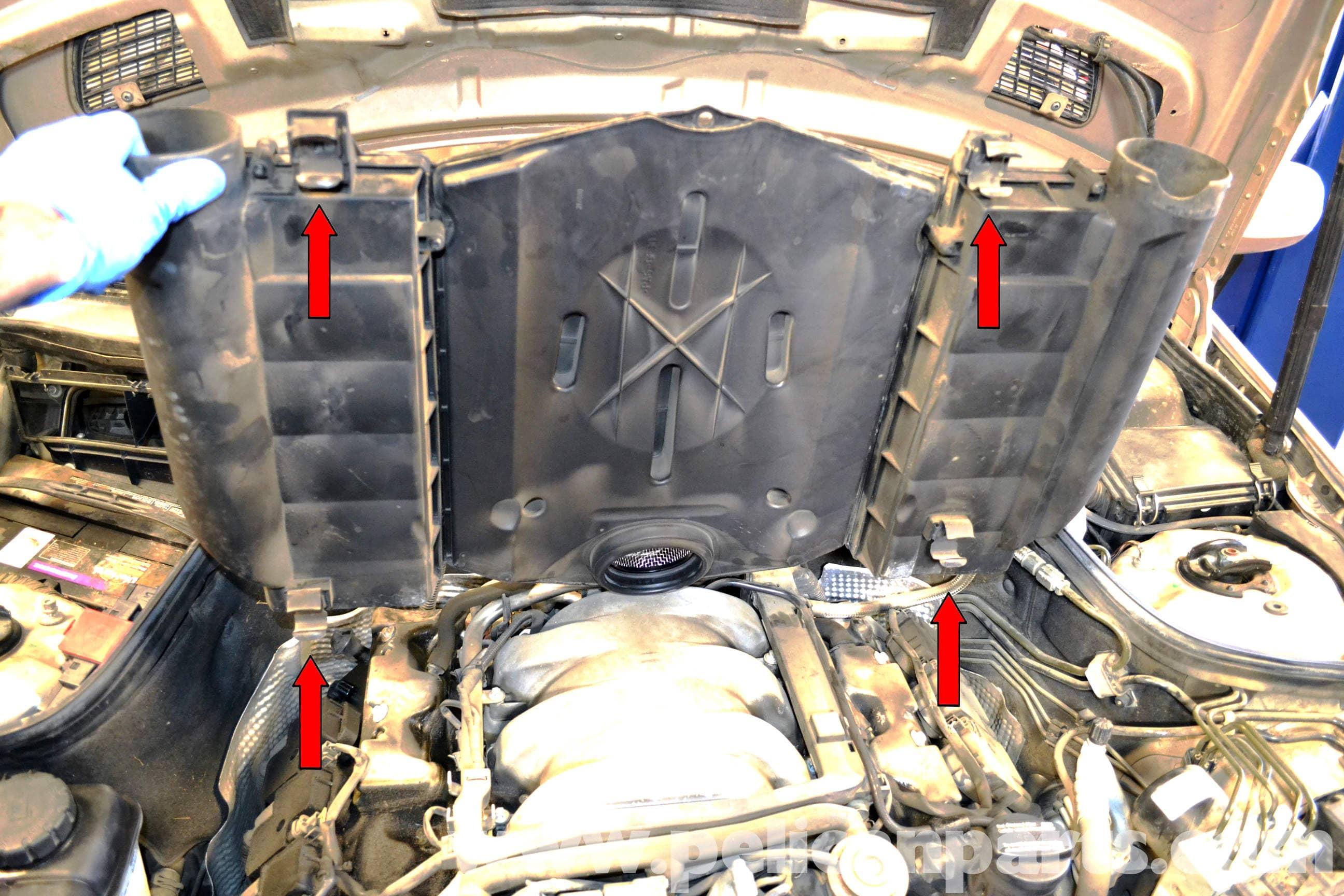 Mercedes Benz W203 Air Filter Replacement 2001 2007