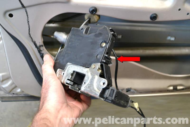 Mercedes Benz W203 Front Door Lock Removal 2001 2007
