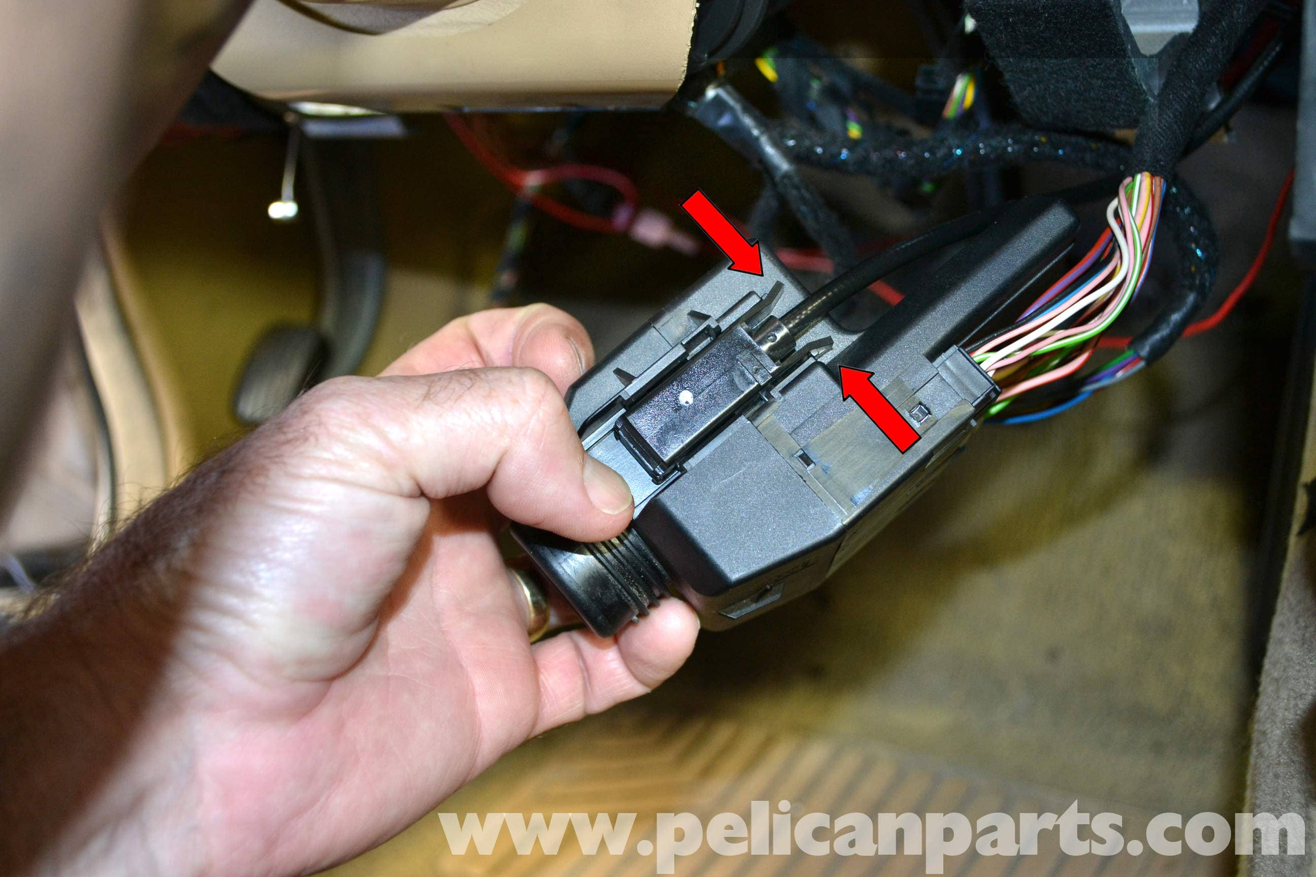 pic11 mercedes benz w203 ignition switch replacement (2001 2007) c230  at bayanpartner.co