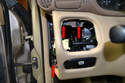 Moving to the far left side of the dash remove your light switch module.