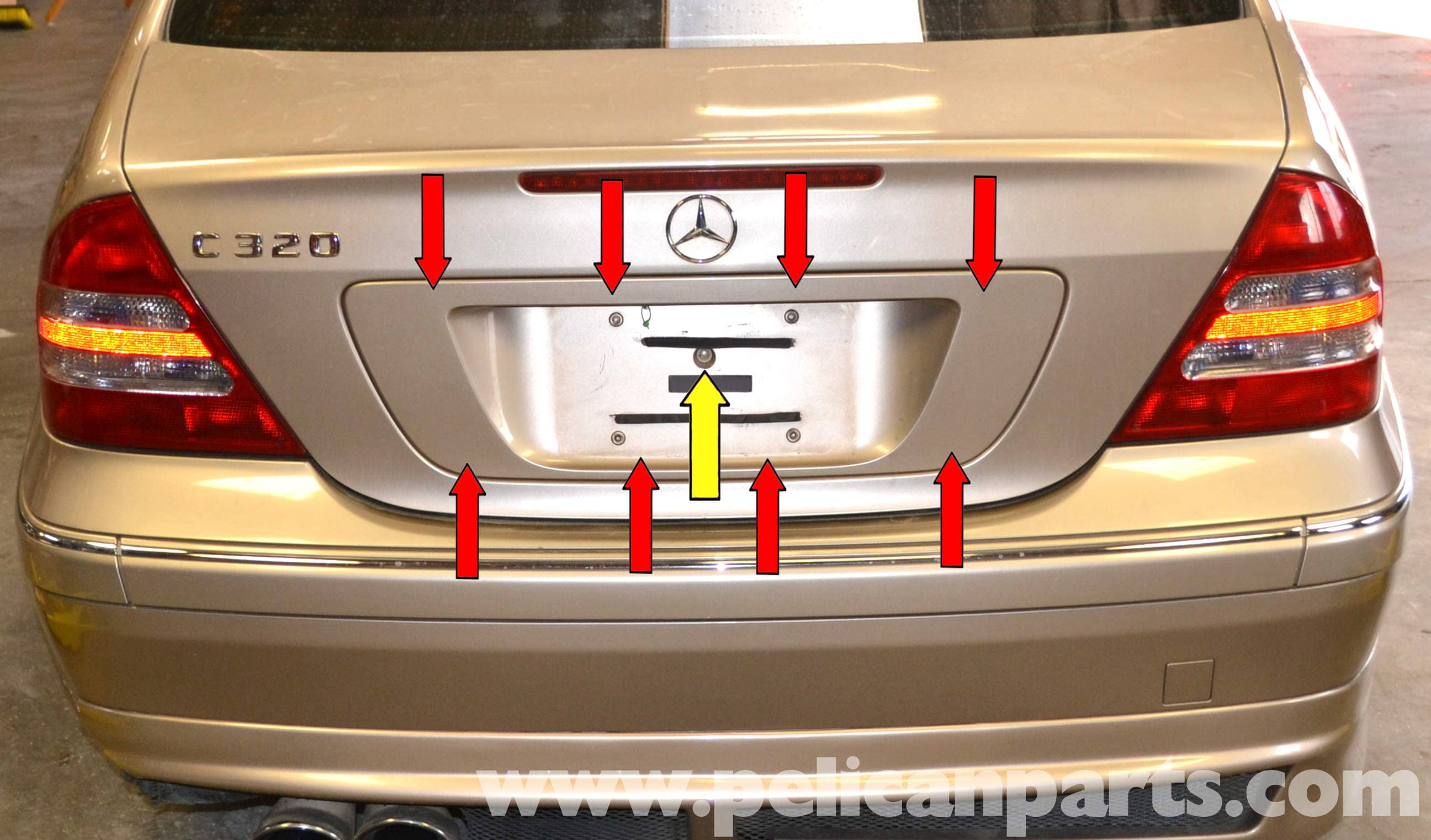 Mercedes trunk wont open