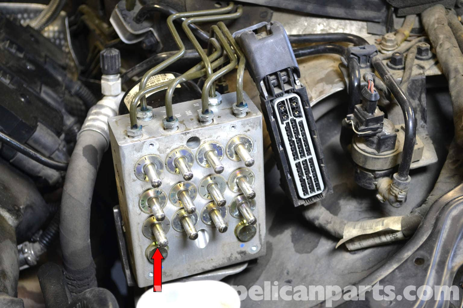 Mercedes Benz W203 Abs Control Module Replacement 2001