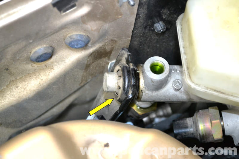 Mercedes Benz W203 Brake Booster Diaphragm Positioning