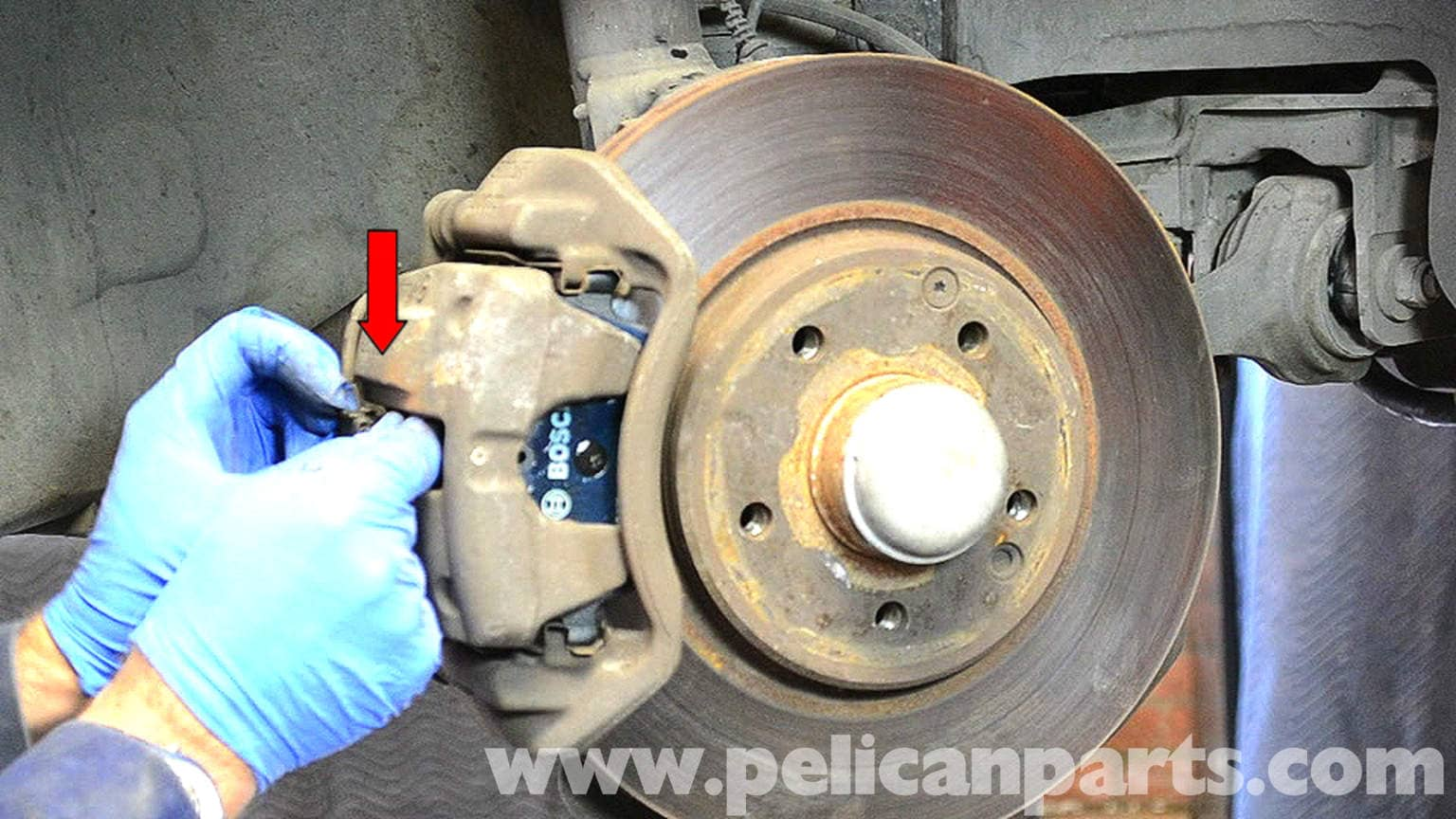 Mercedes-Benz W203 Front Brake Pad Replacement - (2001-2007