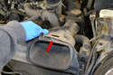 Remove the two air inlet ducts.