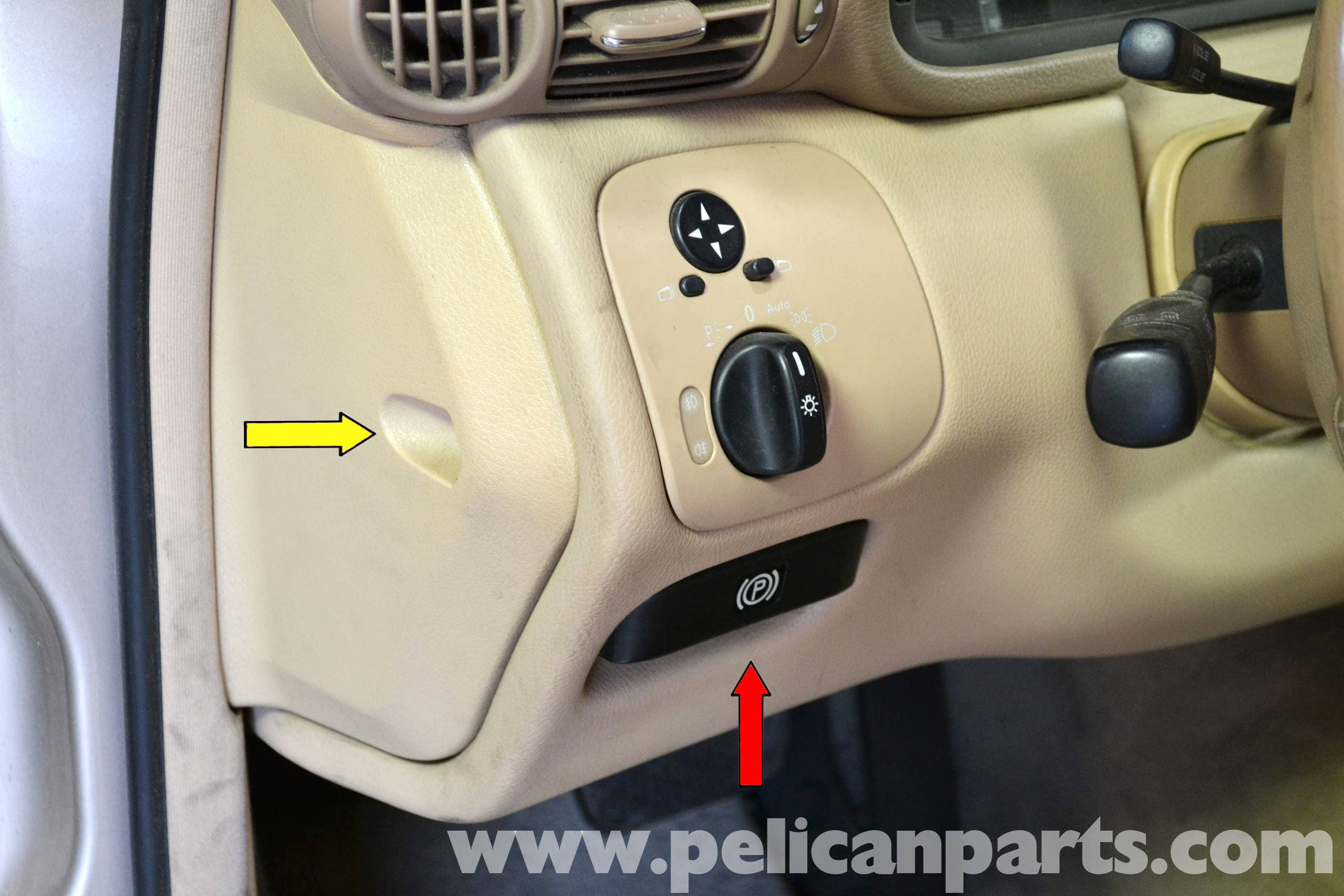 MercedesBenz W203 Light Switch Replacement 20012007 C230 C280