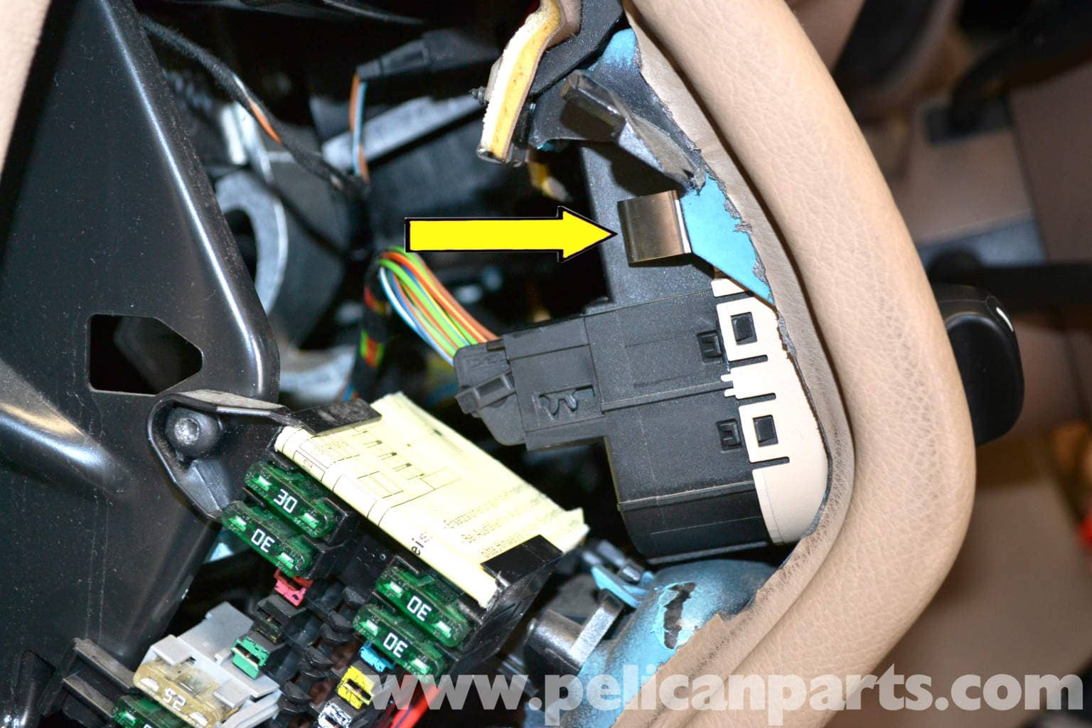 Mercedes Benz W203 Light Switch Replacement 2001 2007