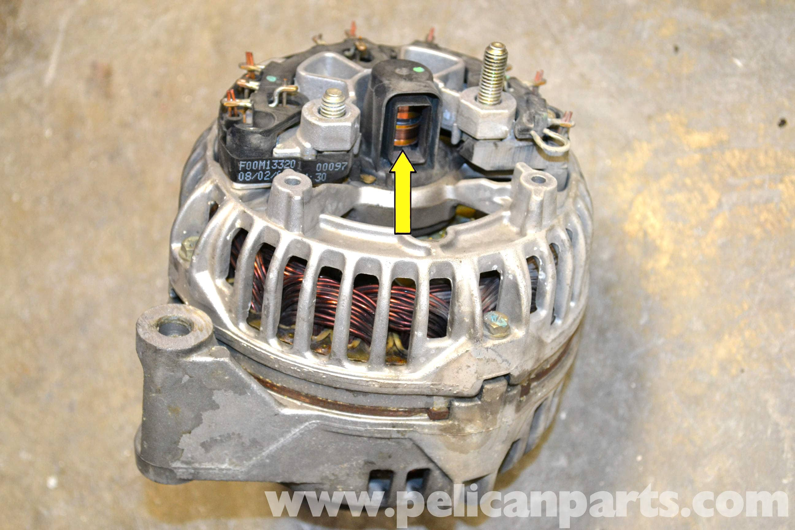 pic05 mercedes benz w203 voltage regulator replacement (2001 2007  at aneh.co