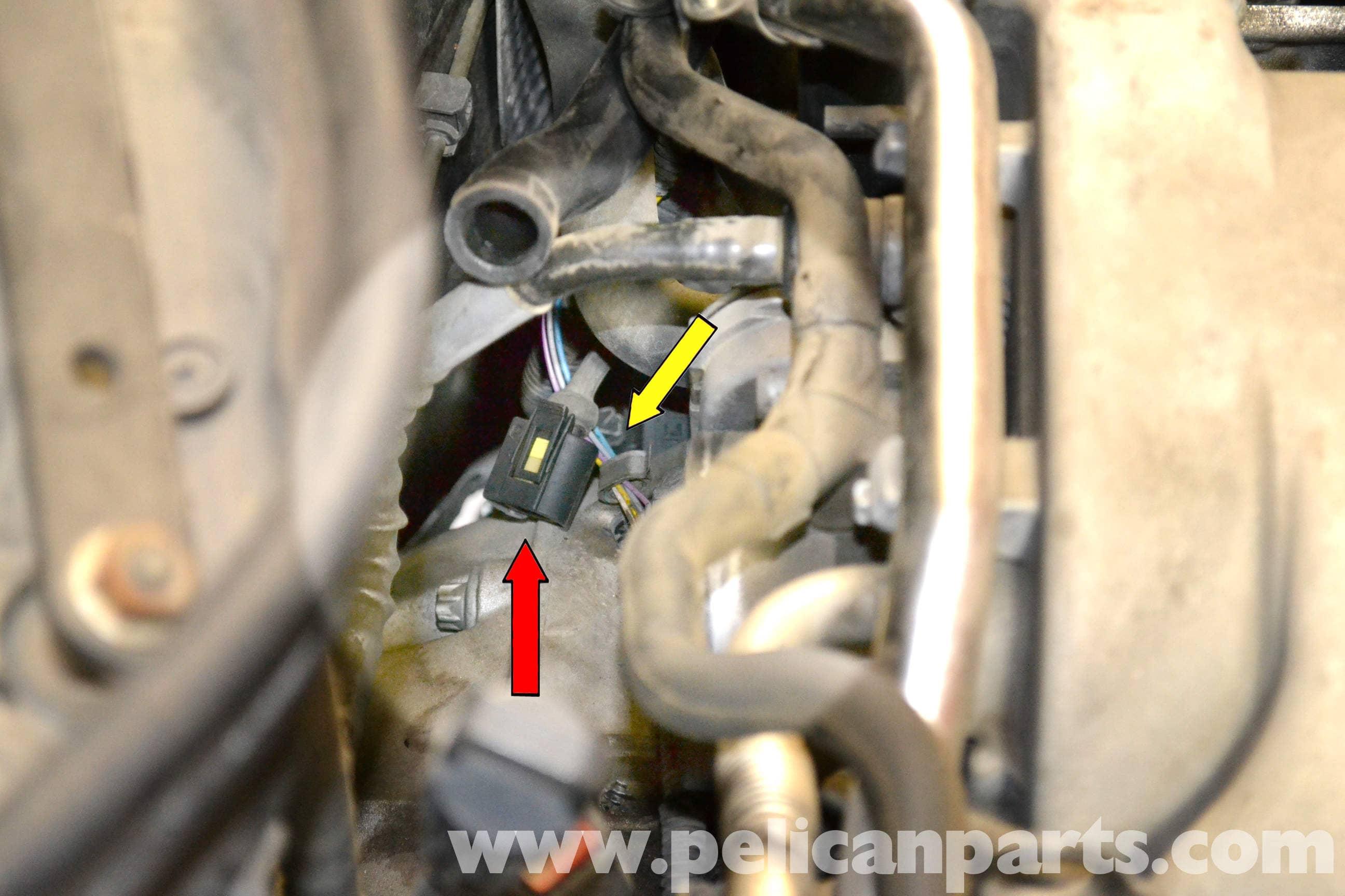 Mercedes-Benz W203 Crankshaft Positioning Sensor Replacement