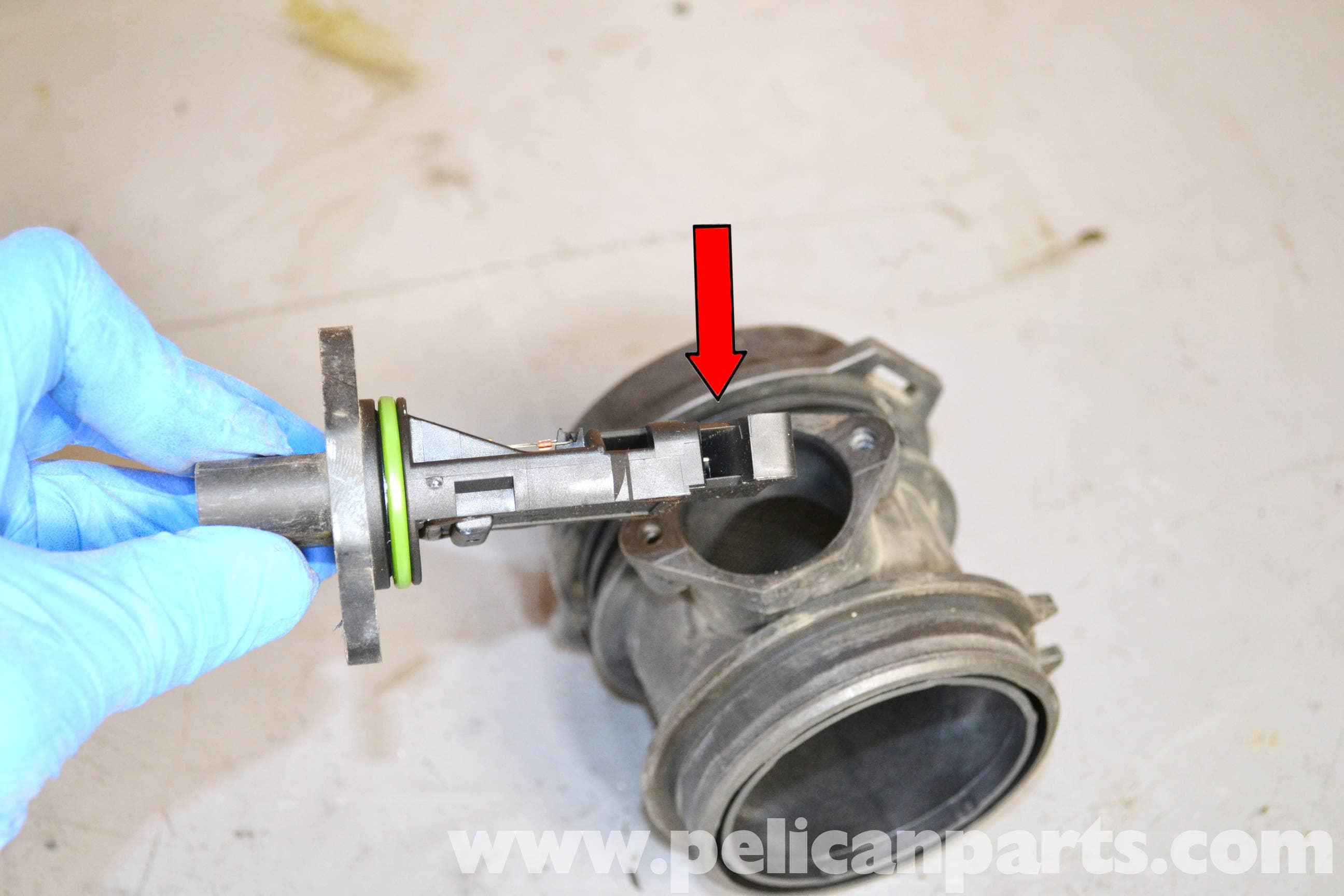 Mercedes-Benz W203 MAF (Mass Air Flow) Sensor Replacement - (2001